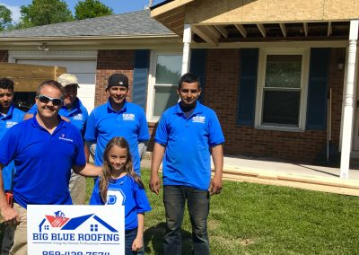Big Blue Roofing Company In Lexington KY