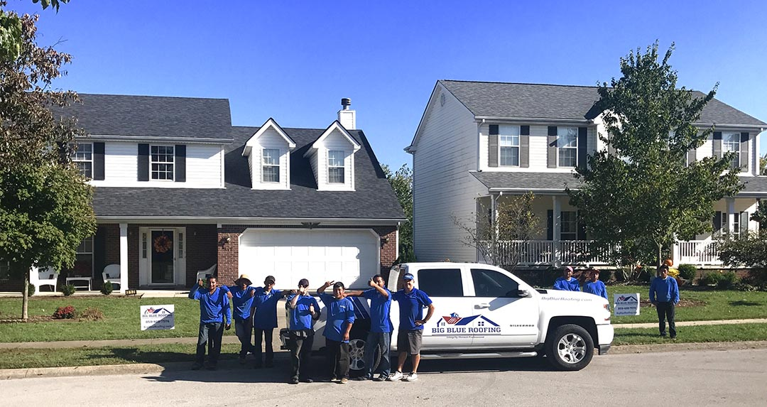 Big Blue Roofing Lexington Kentucky Roofing Company