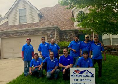Big Blue Roofing Company Team Members Lexington KY