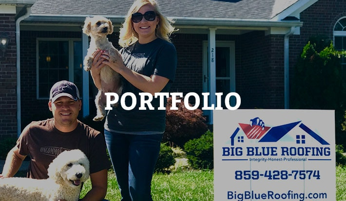 Big Blue Roofing Portfolio Lexington Roofer